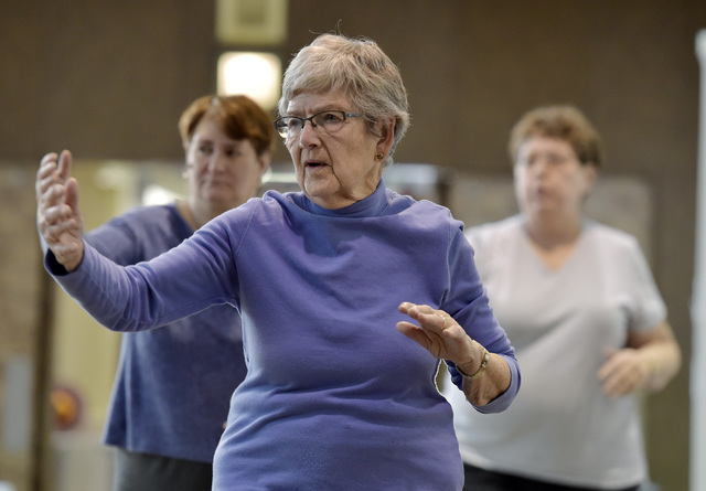 Tai chi class offers a chance to improve posture, balance