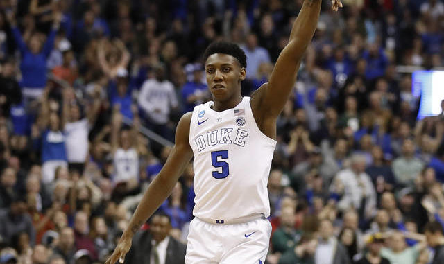 Mississauga's R.J. Barrett entering NBA draft after one year at Duke
