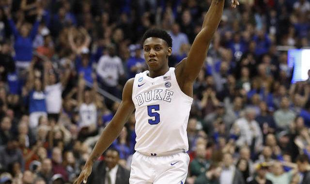 Mississauga's R.J. Barrett entering NBA draft after one year at Duke