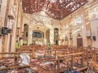 Easter Sunday bomb blasts kill more than 200 in Sri Lanka