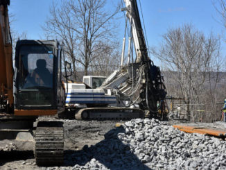 Testing of abandoned mine shafts underway at Wilkes-Barre site