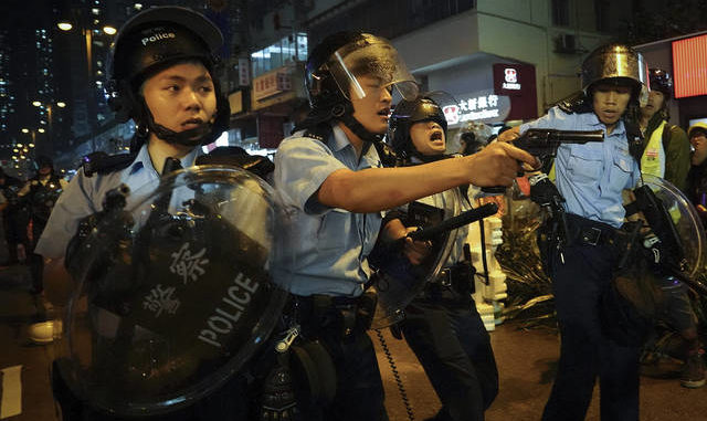 China signals intervention as Hong Kong's protests intensify