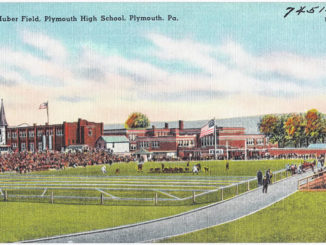 Look Back: Oldest athletic field in the Wyoming Valley. Huber Field in Plymouth?