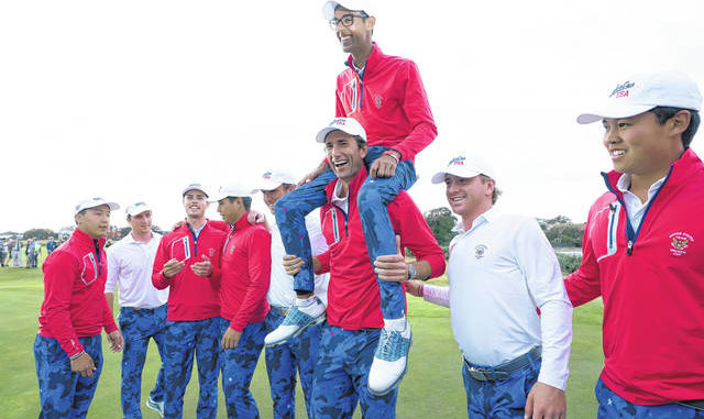 United States of America  comeback to win Walker Cup as they dominate Sunday singles