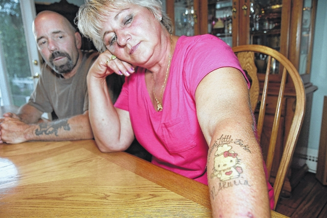 In focus tattoos help kingston family deal with loss of for Family deal com