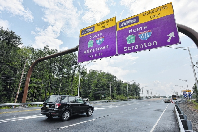 pa turnpike commission makes wyoming valley to jim thorpe area an rh timesleader com