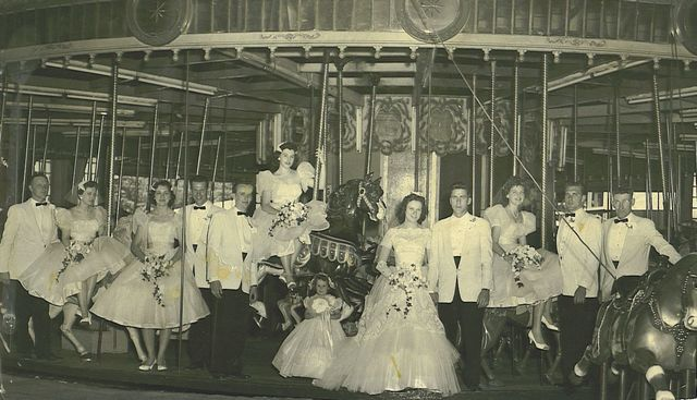 """Archival photos from Rocky Glen Park, a popular amusement park that is now defunct. A free screening of a documentary, """"Return to Rocky Glen"""" will take place at 1 p.m. Aug. 8 in Scranton."""