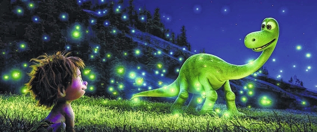 """Movie Review: Pixar's """"The Good Dinosaur"""" a must-see movie about a young  dino overcoming his fears 