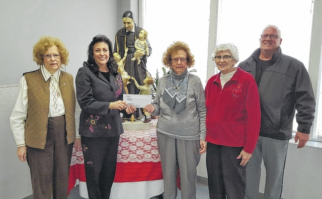 First Slovak Ladies Donate To St. Vincent De Paul Soup Kitchen