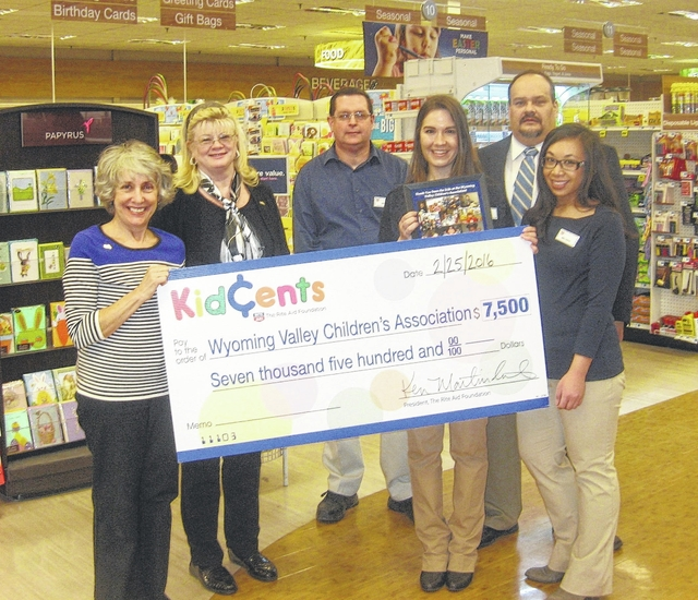Rite Aid Foundations Big Hearts Give Challenge Benefits WVCA