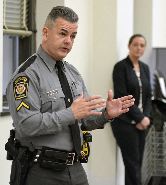 D A  hosts countywide crime watch meeting with numerous law