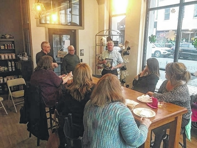 Luzerne County Reading Council Hosts Author S Tea At Jk Holly In Pittston Times Leader