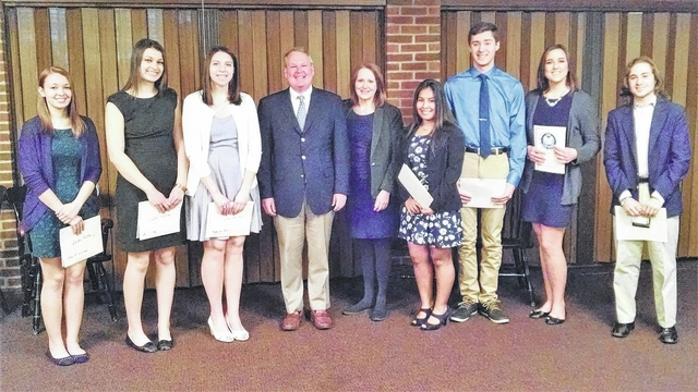 high school seniors receive dar good citizens award times leader