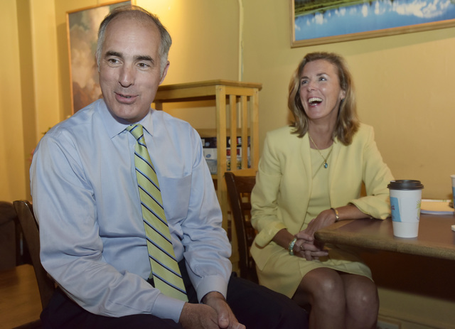 Delegate democrats unity will shine through in philadelphia bob casey and katie mcginty discuss the upcoming democratic national convention while at the northern lights espresso bar in downtown scranton on thursday aloadofball Choice Image