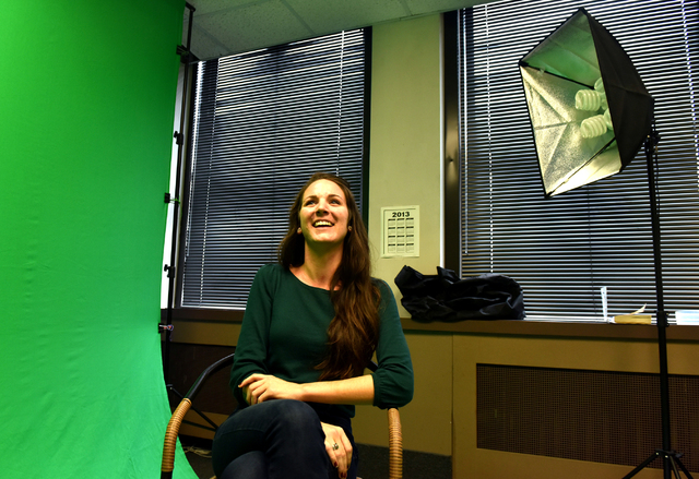 Holly Pilcavage talks about her entrpeneurial journey in her Wilkes-Barre office on Thursday, October 13. 10/13/16. Sean McKeag | Times Leader