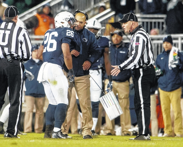 new style 34701 92e2c PSU notebook: Barkley exits early with apparent ankle injury ...