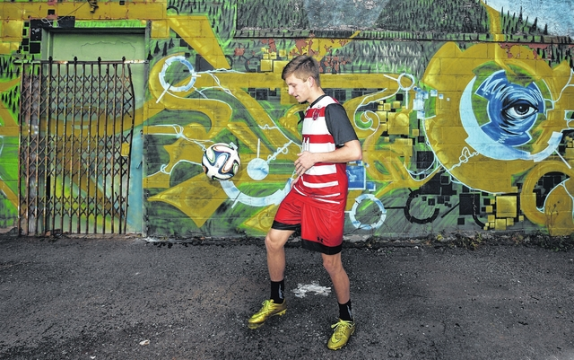 Crestwood's Kyle Gegaris named Times Leader Boys Soccer Player of the Year