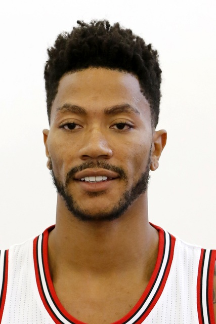 This a headshot of basketball player Derrick Rose. Derrick Rose is an  active basketball player c5fe814dd