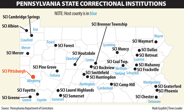 All 3 Northeastern Pa Prisons Will Remain Open Times Leader