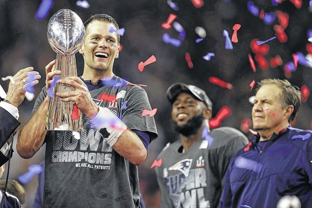d5045791c New England  8217 s Tom Brady became the first quarterback with five Super  Bowl New England s ...