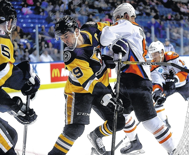 WBS Penguins' Season Ends with 2-1 Loss to P-Bruins in Game 5