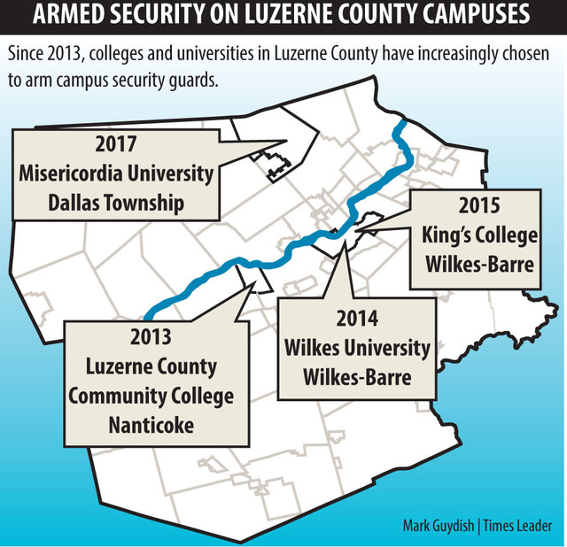 Misericordia University Campus Map.Misericordia To Arm Some Campus Security Personnel Times Leader
