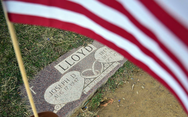 Longtime U.S. mail carrier Joe Lloyd is buried at St. Ignatius Cemetery in the borough of Pringle. His date of death, Jan. 25, will be added later, according to one of his sisters, Maryalice James of Edwardsville. (Sean McKeag | Times Leader)