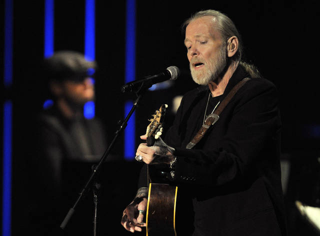 Gregg Allman performs at the Americana Music Association awards show in Nashville, Tenn., in 2011. A publicist said the musician, a singer for The Allman Brothers Band, died Saturday.