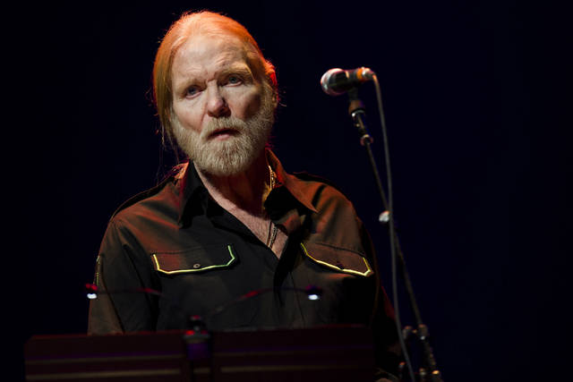 In this April 13, 2013, file photo, Gregg Allman performs at Eric Clapton's Crossroads Guitar Festival 2013 at Madison Square Garden in New York. On Saturday, May 27, 2017, a publicist said the musician, the singer for The Allman Brothers Band, has died.