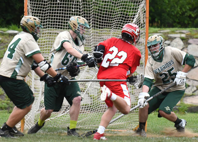 Crestwood defeats Wyoming Area in District 2 Boys Lacrosse semifinals