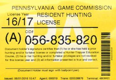 Mullery legislation would reduce penalty for forgetting hunting license