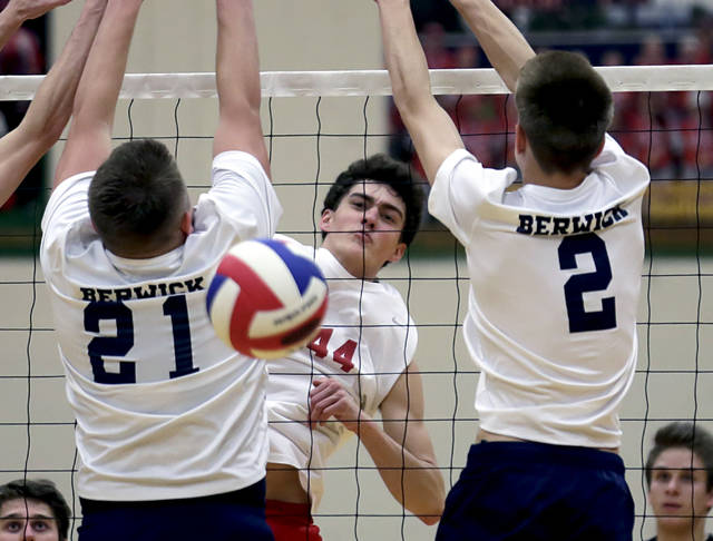 Holy Redeemer volleyball beats Berwick to head back to District 2 final