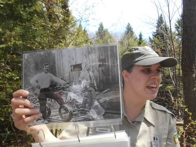 History buffs visit 'ghost town' of Ricketts, where lumbermen used to toil | Times Leader