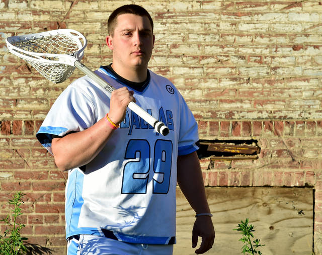 Dallas' Corey McAndrew, Times Leader Boys Lacrosse Player of the Year