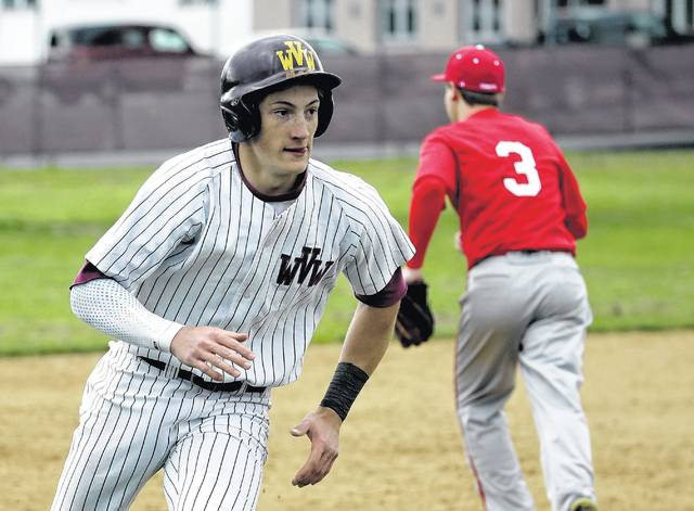 Wyoming Valley West's Justin Vought will decide in the next month between playing college ball at Maryland or in the pros for the Royals organization.