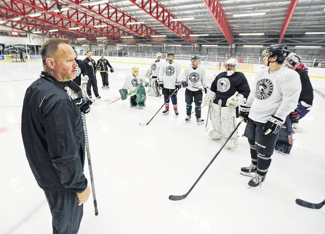 hockey hopefuls flock to area to tryout for the wheeling nailers