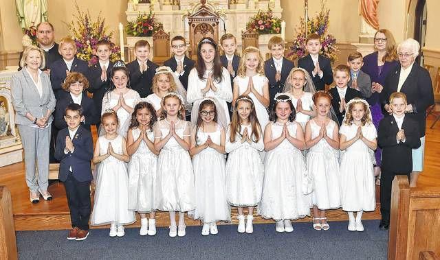First Holy Communion at St. Elizabeth Ann Seton Parish   Times Leader