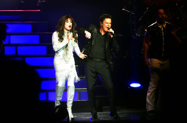 Longtime fans thrilled as Donny and Marie Osmond perform in Wilkes-Barre