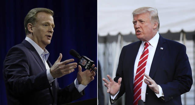 "NFL owners will meet next week to consider changes to a game manual that says players ""should"" stand during the national anthem, a guideline that the league has left to the discretion of players who kneeled in larger numbers after criticism from President Donald Trump. Commissioner Roger Goodell told club executives Tuesday in a memo obtained by The Associated Press that the anthem issue is dividing the league from its fans. He said the NFL needs ""to move past this controversy."""