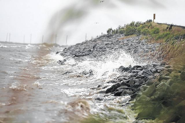Hurricane Nate makes landfall at mouth of the Mississippi River