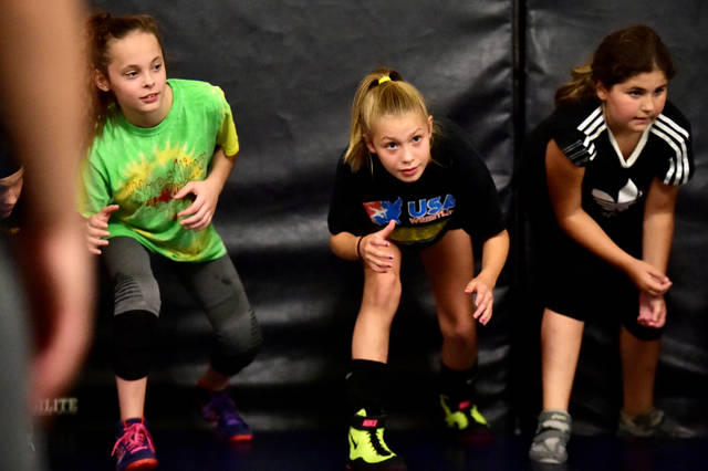 Olympian stops at Wyoming Sem for girls-only wrestling