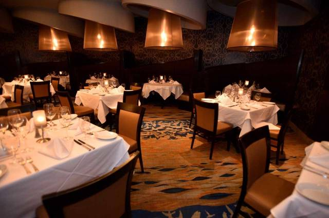 The Main Dining Area At Ruth S Chris Steak House Which Is Situated Inside Mohegan Sun Pocono In Plains Township Aimee Dilger Times Leader