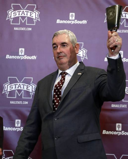 Cowbells are omnipresent at Mississippi State games, and the university has already begun marketing Joe Moorhead under the slogan 'Moor Cowbell.'