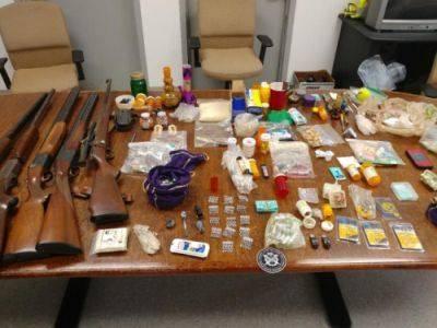 Wilkes-Barre Township police arrest four in drug raid