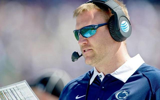 Tight ends coach Ricky Rahne, who previously called plays for Penn State in the TaxSlayer Bowl at the end of the 2015 season, could be in the mix to replace Joe Moorhead.