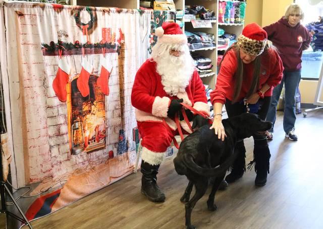 Barking Dog Bakery Santa