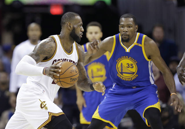 The NBA is driven by star power and its Christmas Day lineup is about the league's best players, not all the best teams. Yes, the NBA will roll out LeBron James, left, and Kevin Durant, right, toss in some Russell Westbrook and James Harden under the mistletoe.