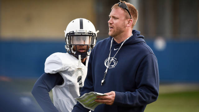 Ricky Rahne will continue to run Joe Moorhead's system as he takes over as Penn State's new offensive coordinator and quarterbacks coach.
