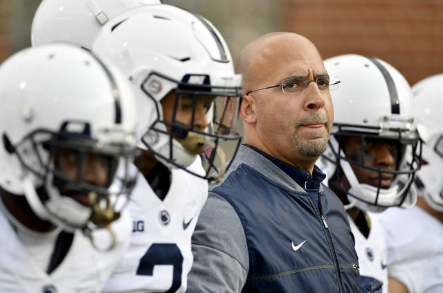 Penn State coach James Franklin has the Nittany Lions back in a New Year's Six bowl game as they play in the Fiesta Bowl for the first time in two decades, taking on Washington.