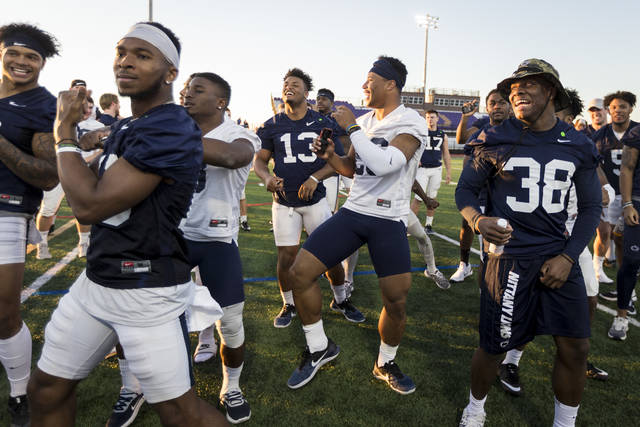 Despite some changes to the coaching staff, Penn State players have managed to stay loose in the past week since arriving in Arizona ahead of Saturday's Fiesta Bowl.